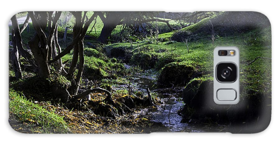 Stream Galaxy Case featuring the photograph Little Stream by Kelly Jade King