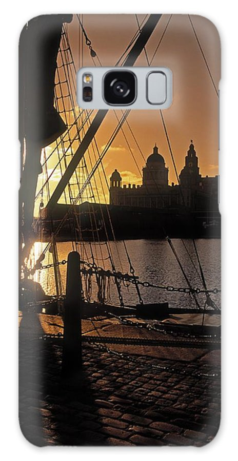 Architecture Galaxy S8 Case featuring the photograph Liverpool, England View From Albert Dock by The Irish Image Collection