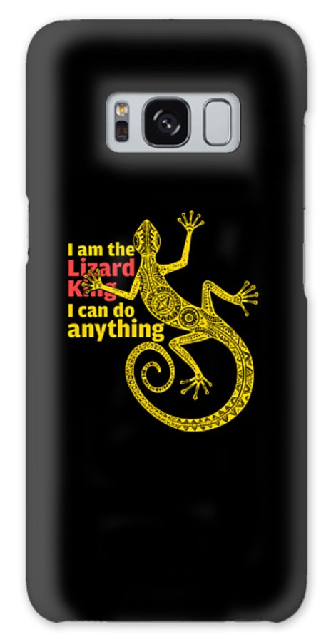 Lizard King Galaxy S8 Case featuring the digital art Lizard King by Kalyan