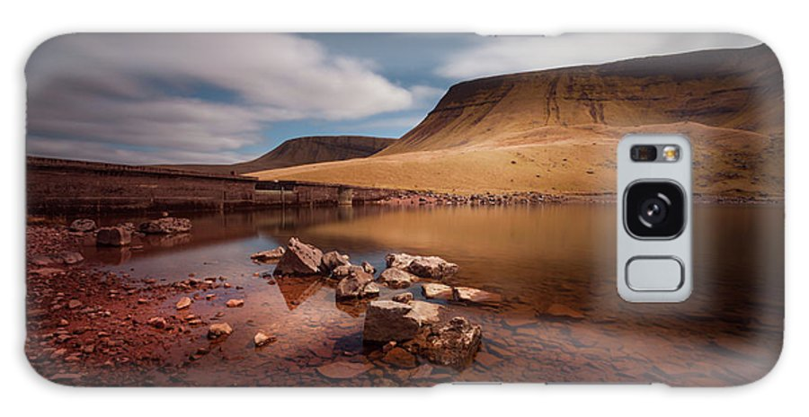 Llyn Y Fan Fach Galaxy S8 Case featuring the photograph Llyn Y Fan Fach Black Mountain by Leighton Collins