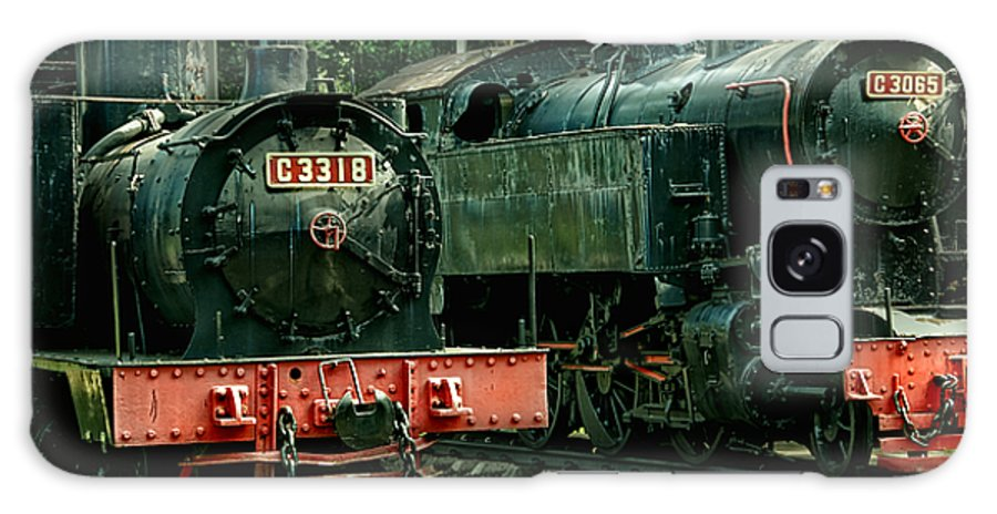 Locomotive Galaxy S8 Case featuring the photograph Locomotive by Charuhas Images