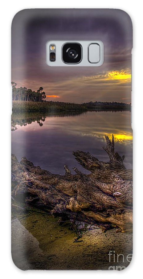Pine Island Galaxy S8 Case featuring the photograph Logging Out by Marvin Spates