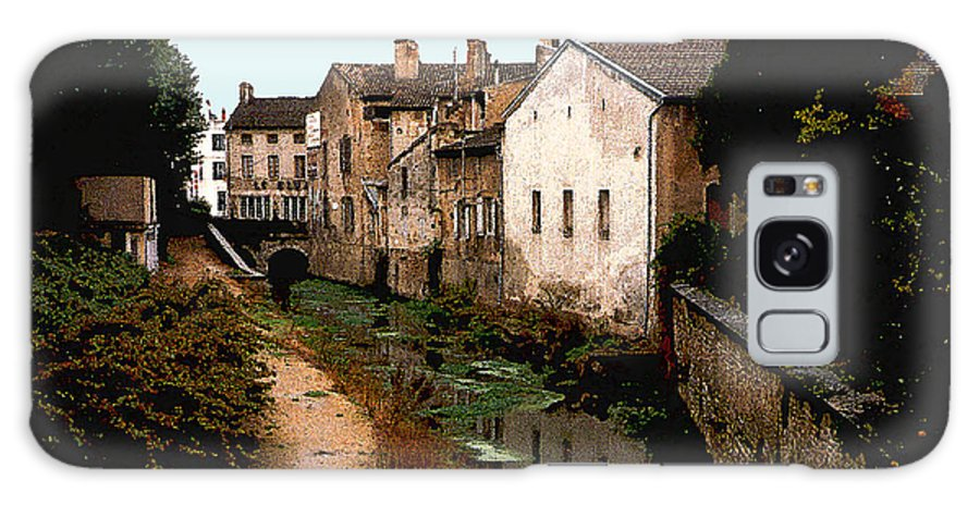 France Galaxy S8 Case featuring the photograph Loire Valley Village Scene by Nancy Mueller