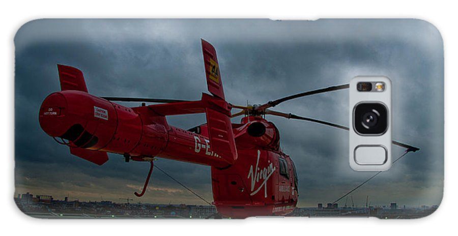 Air Ambulance Galaxy S8 Case featuring the photograph London Air Ambulance by Dawn OConnor