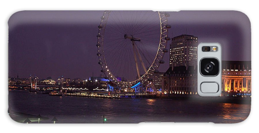 London Galaxy S8 Case featuring the photograph London Eye by Paul and Janice Russell