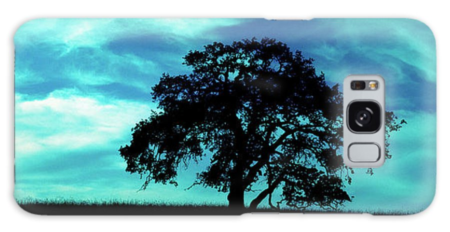 Oak Galaxy S8 Case featuring the photograph Lone Oak by Jim And Emily Bush
