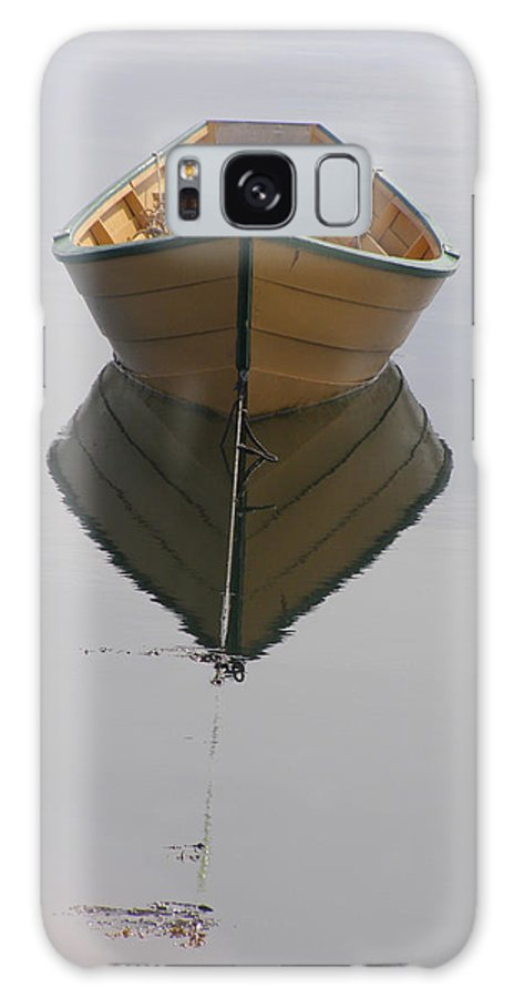 Boat Galaxy S8 Case featuring the photograph Lonely Boat by Frederic Durville