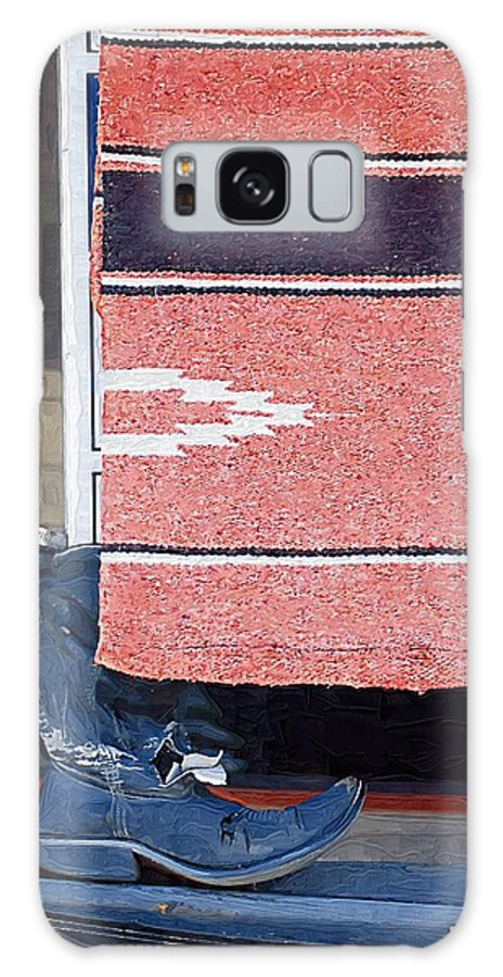 Boots Galaxy S8 Case featuring the photograph Long Way Home 1 by Donna Bentley