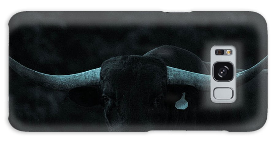 Galaxy S8 Case featuring the photograph Longhorn by Sunshine Nelson