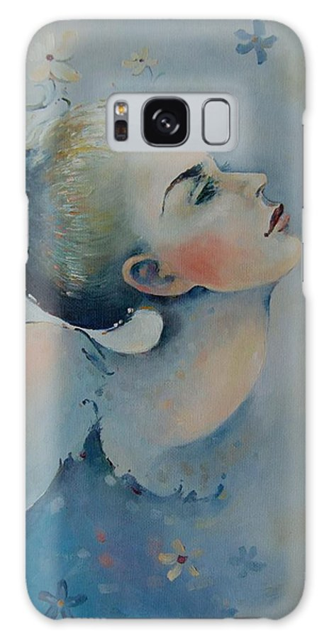 Art Galaxy S8 Case featuring the painting Longing For Harmony by Anita Zotkina