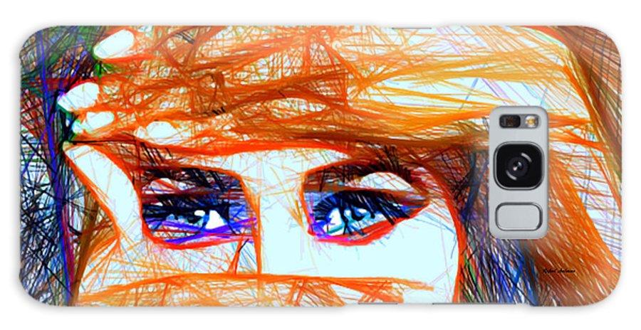 Rafael Salazar Galaxy S8 Case featuring the digital art Look Out Of The Box by Rafael Salazar