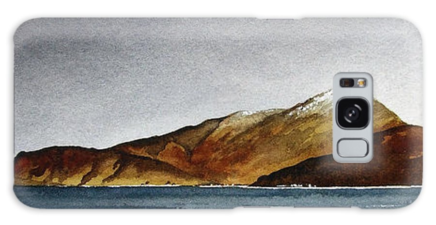 Seascape Galaxy Case featuring the painting Looking Towards Arran From Skipness by Paul Dene Marlor