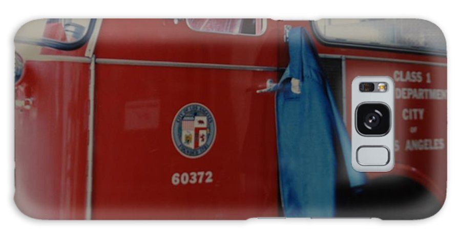 Los Angeles Fire Department Galaxy S8 Case featuring the photograph Los Angeles Fire Department by Rob Hans
