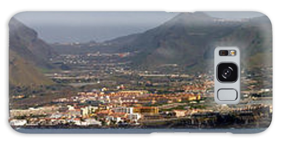 Valasretki Galaxy S8 Case featuring the photograph Los Gigantes Panorama 1 by Jouko Lehto