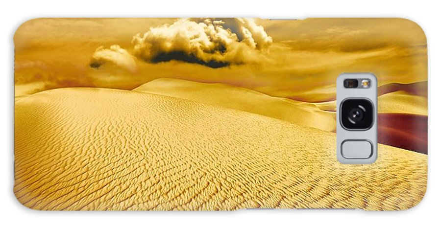 Desert Galaxy Case featuring the photograph Lost Worlds by Jacky Gerritsen