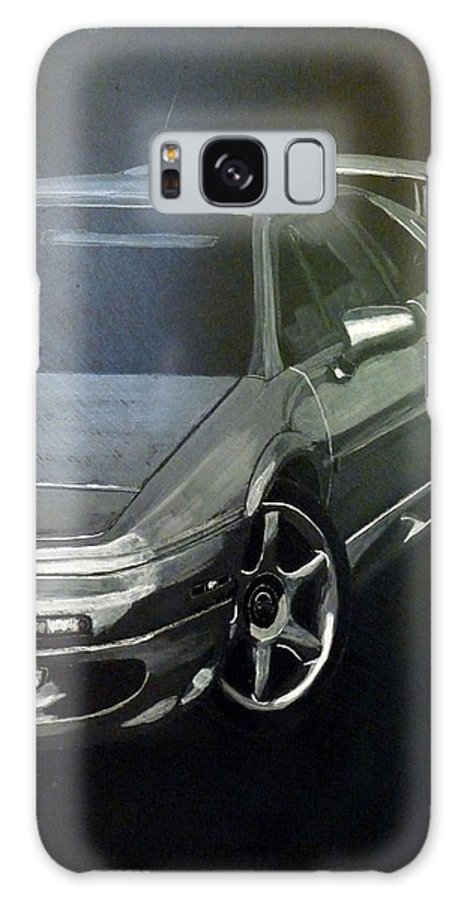 Lotus Esprit Galaxy S8 Case featuring the painting Lotus Esprit by Richard Le Page