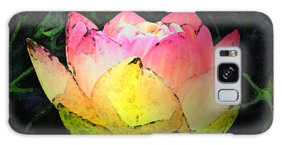 Aquatic Galaxy S8 Case featuring the photograph Lotus Fresco by Annie Johnson