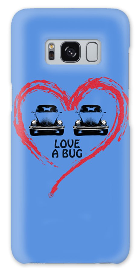 Volkswagen Beetle Galaxy S8 Case featuring the photograph Love A Bug by Mark Rogan