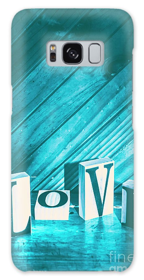 Blue Galaxy S8 Case featuring the photograph Love Blues by Jorgo Photography - Wall Art Gallery