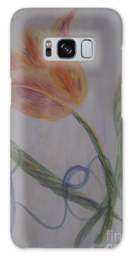 Tulip Galaxy Case featuring the painting Love by Emily Young