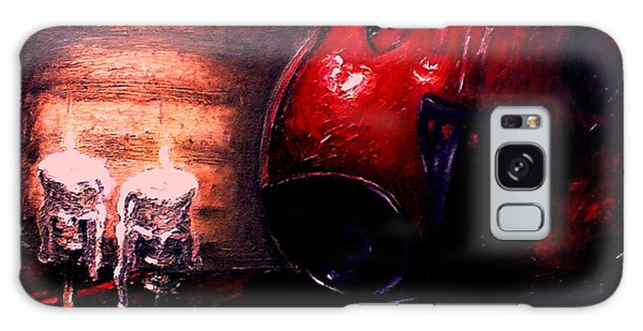 Love Galaxy Case featuring the painting Love For Music by Patricia Awapara