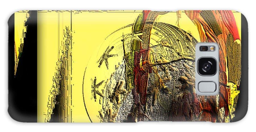 Digital Galaxy S8 Case featuring the digital art Love Serie by Ilona Burchard
