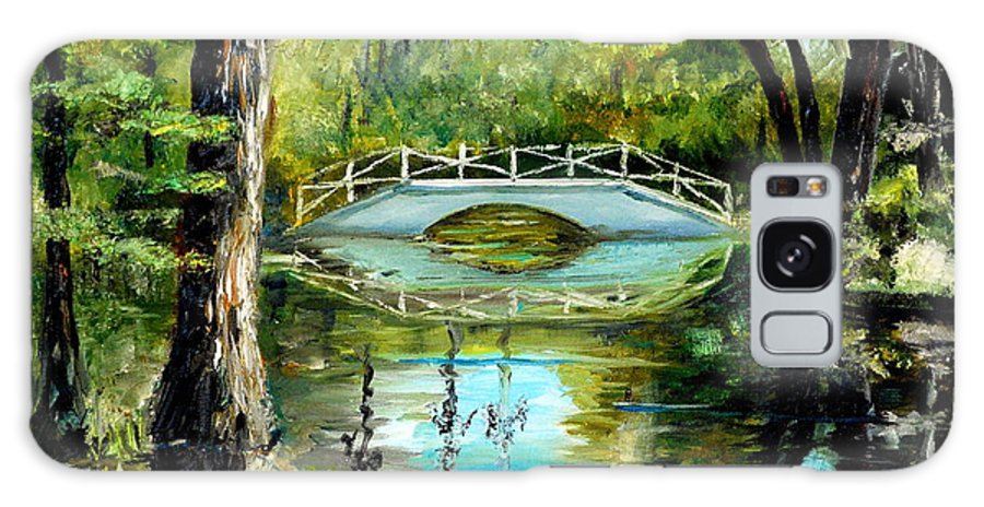 Magnolia Galaxy S8 Case featuring the painting Low Country Bridge by Phil Burton