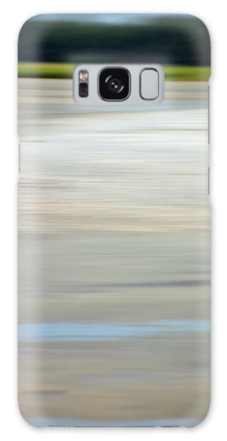 Coastal Galaxy Case featuring the photograph Low Country Coastal Blur by Suzanne Gaff