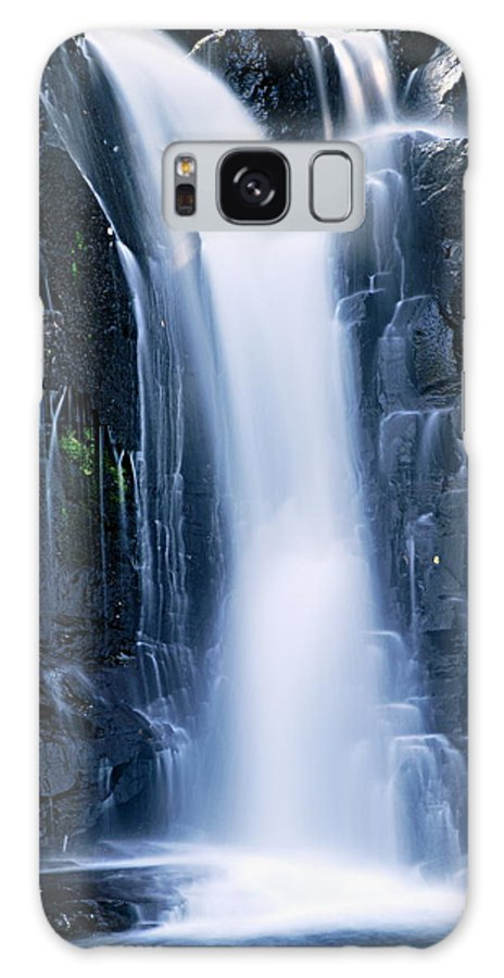 Boundary Waters Canoe Area Wilderness Galaxy S8 Case featuring the photograph Lower Johnson Falls 3 by Larry Ricker