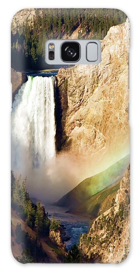 Canyon Galaxy S8 Case featuring the photograph Lower Rainbow Of Colors by Lana Trussell
