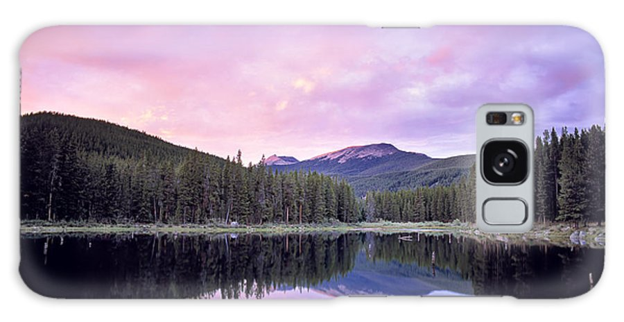 Montana Galaxy S8 Case featuring the photograph Lower Seymor Lake by Leland D Howard