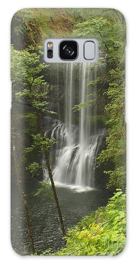 Silver Falls Galaxy S8 Case featuring the photograph Lower South Falls by Idaho Scenic Images Linda Lantzy