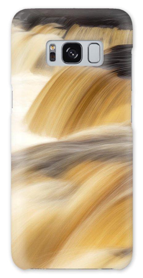 Water Galaxy Case featuring the photograph Lower Tahquemenon Falls by Amanda Kiplinger