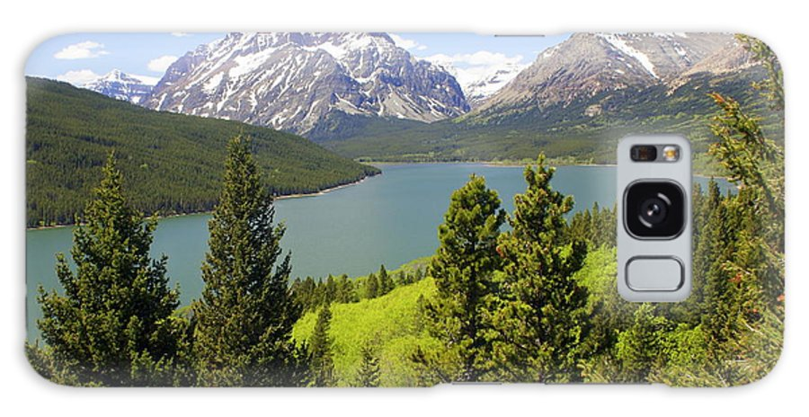Two Medicine Lake Galaxy S8 Case featuring the photograph Lower Two Medicine Lake by Marty Koch