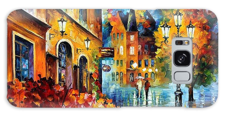 Afremov Galaxy S8 Case featuring the painting Lucky Night by Leonid Afremov