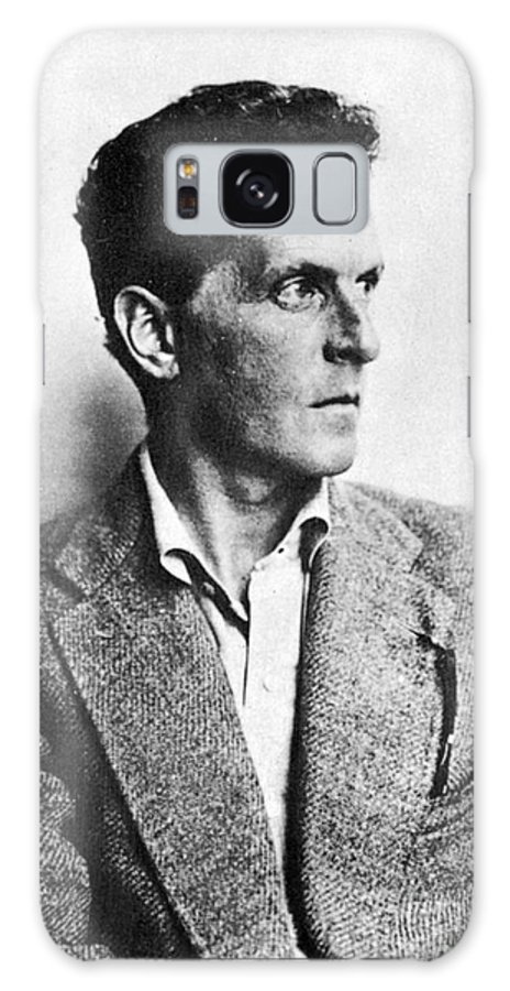 20th Century Galaxy Case featuring the photograph Ludwig Wittgenstein by Granger