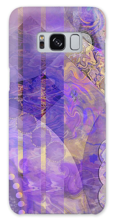 Lunar Impressions 2 Galaxy S8 Case featuring the digital art Lunar Impressions 2 by John Beck