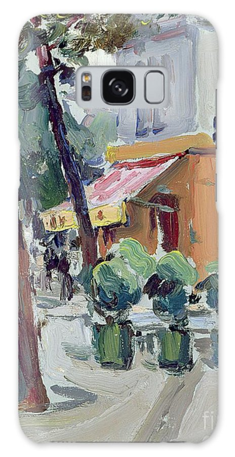 Luxembourg Galaxy S8 Case featuring the painting Luxembourg Gardens by Samuel John Peploe