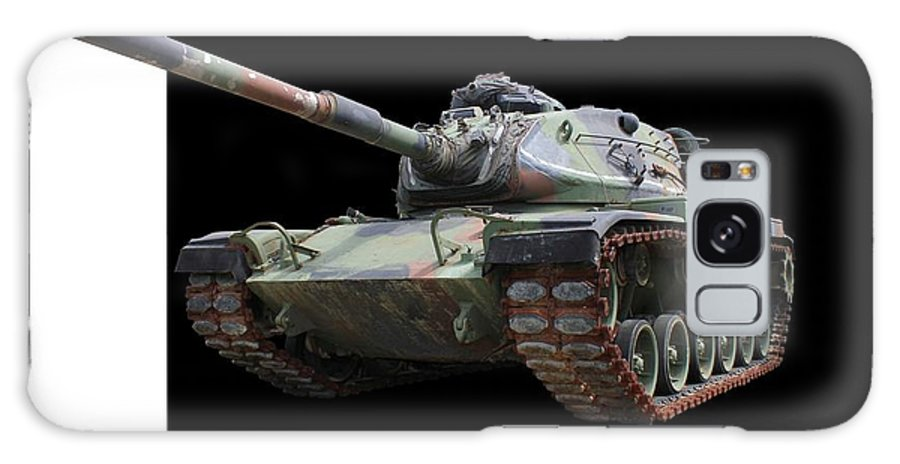 Tank Galaxy S8 Case featuring the photograph M48a2 Tank by Betty Northcutt