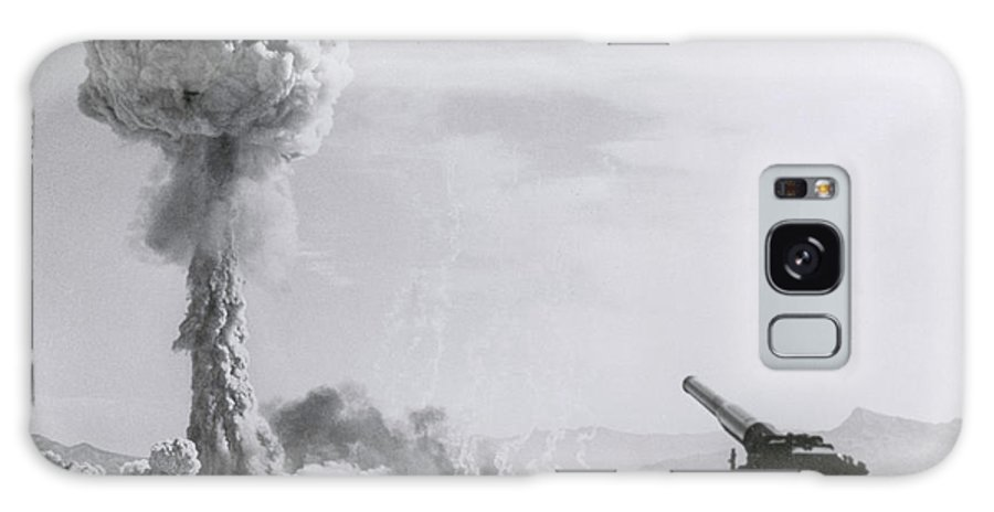 History Galaxy S8 Case featuring the photograph M65 Atomic Cannon by Science Source