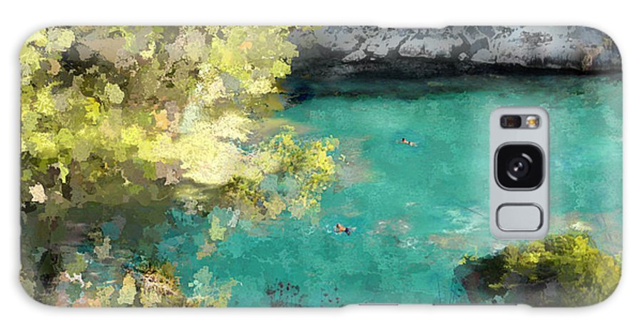 Sea Galaxy Case featuring the photograph Macarella by Dee Flouton
