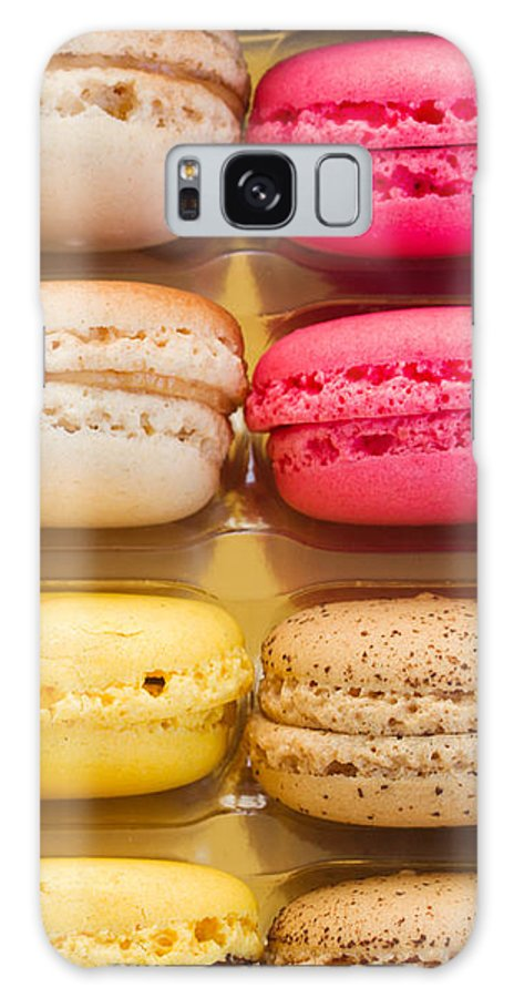 Macaron Galaxy S8 Case featuring the photograph Macaroons by Anastasy Yarmolovich