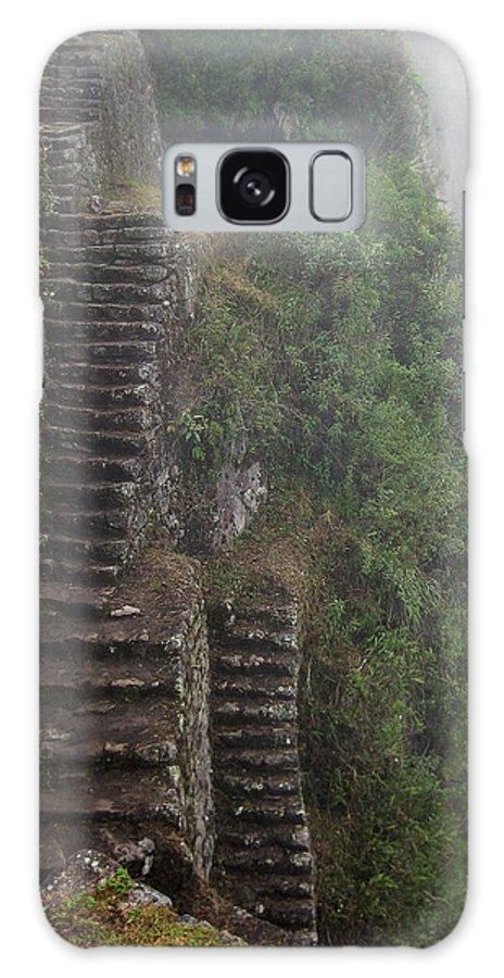 Clouds Galaxy S8 Case featuring the photograph Machu Picchu Peru by Kurt Williams