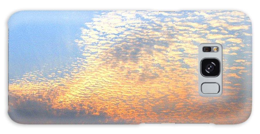 Mackerel Sky Galaxy S8 Case featuring the photograph Mackerel Sky by Will Borden