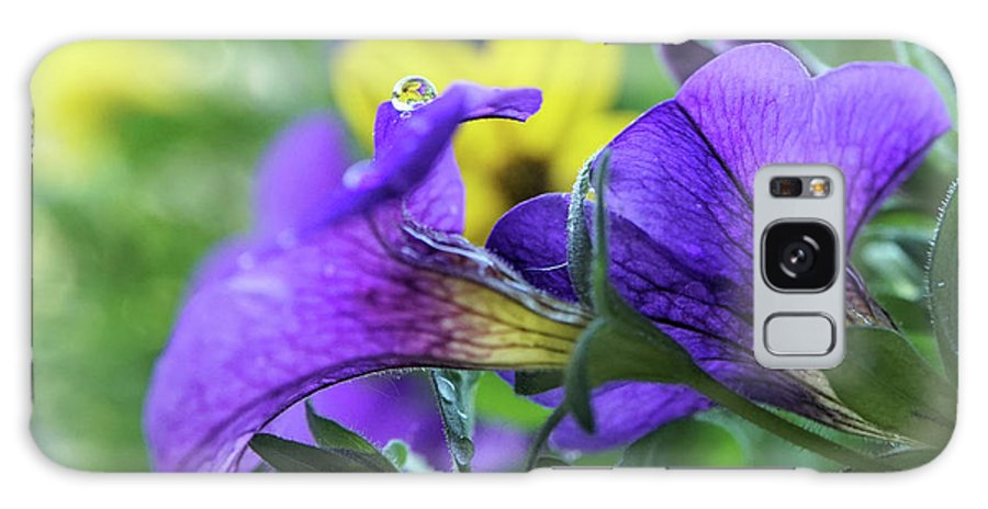 Flower Galaxy S8 Case featuring the photograph Macro View by Lilia D