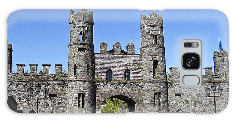 Irish Galaxy Case featuring the photograph Macroom Castle Ireland by Teresa Mucha