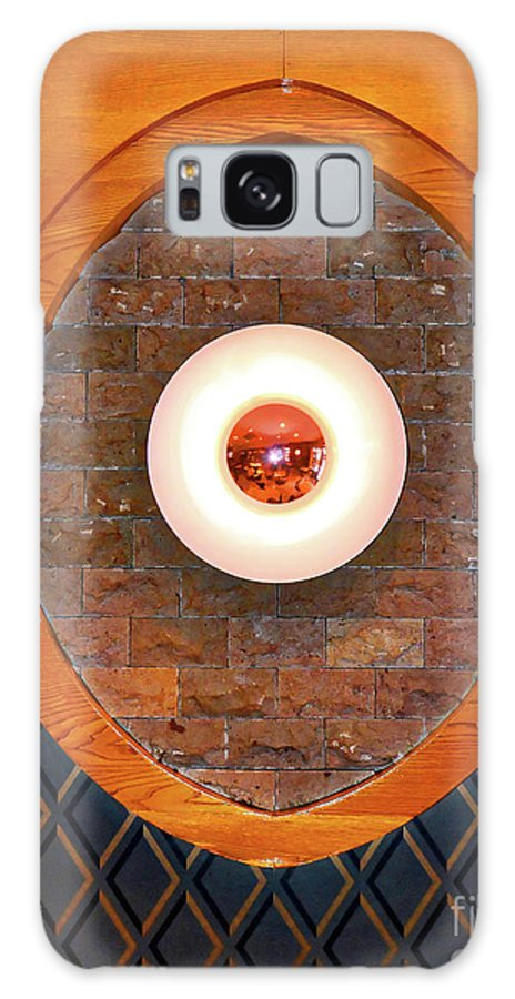 Art Galaxy S8 Case featuring the photograph Art Deco Cafe Wall Light by Wilf Doyle