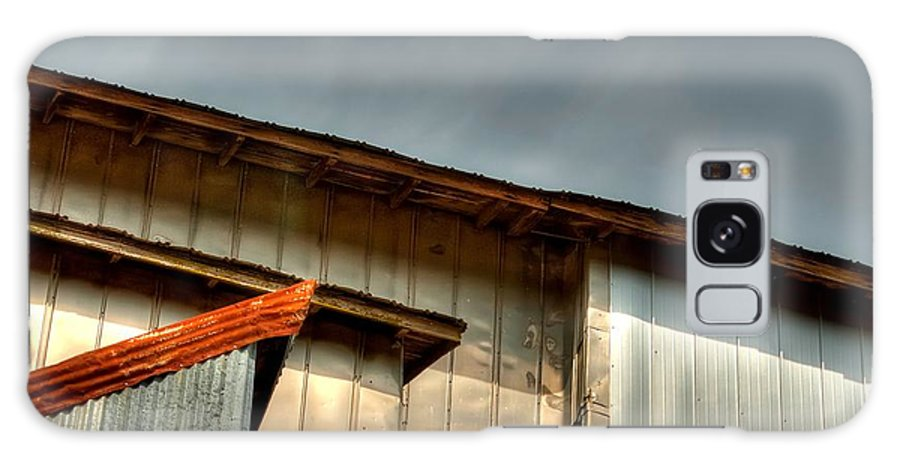 1996 Galaxy S8 Case featuring the photograph Madsen Grain Co Elevator by Jerry Sodorff