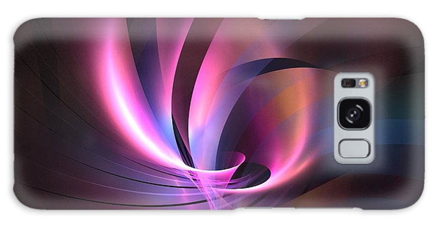 Apophysis Galaxy S8 Case featuring the digital art Magellan by Kim Sy Ok