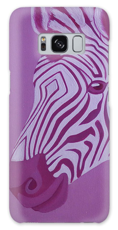 Magenta Zebra Galaxy S8 Case